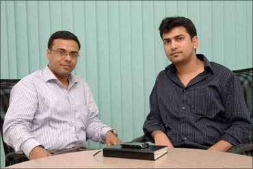 Umesh Sachdev, founder CEO, and Ravi Saraogi, co-founder, Uniphore Software Systems.