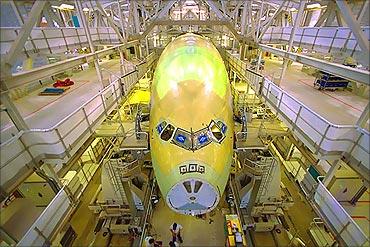 Airbus manufacturing unit.