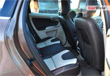 The rear seats.