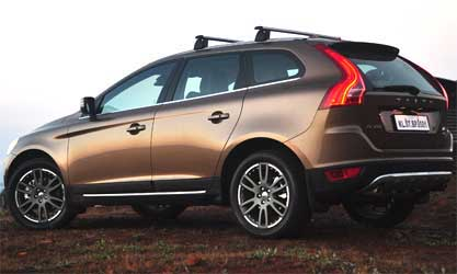 Side view of Volvo XC60.