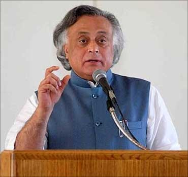 Union Environment Minister Jairam Ramesh