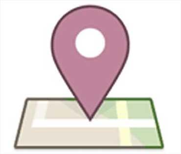 Facebook Places logo.