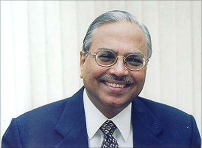 The then UTI chairman P S Subramanyam.