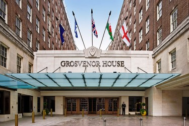 Grosvenor House hotel in Central London.