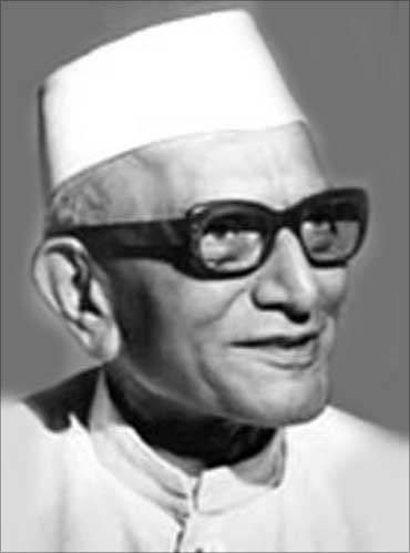 Morarji Desai.
