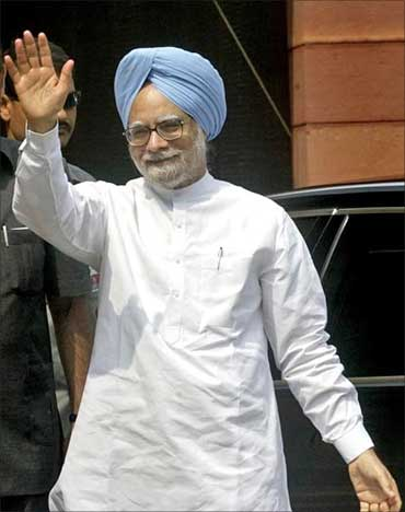 Prime Minister Manmohan Singh.
