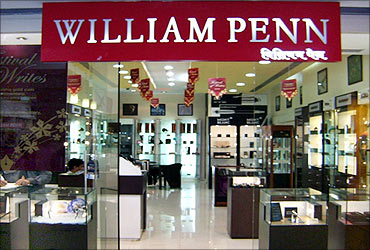 A William Penn outlet in Malad, Mumbai.