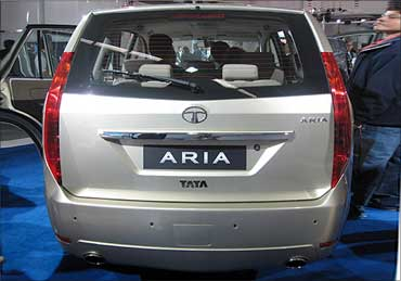 Tata Aria will soon blaze Indian roads