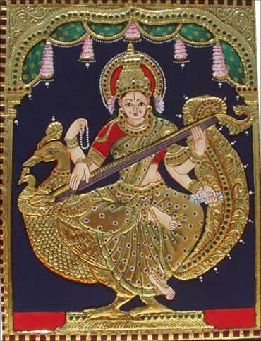 Goddess Saraswati.