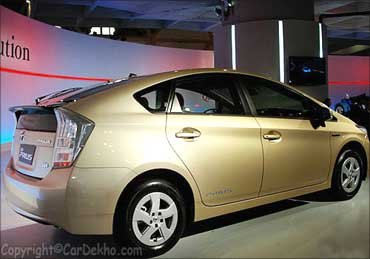 Toyota Prius: A new hybrid on the block