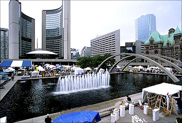 The entertainment capital of Canada, Toronto.