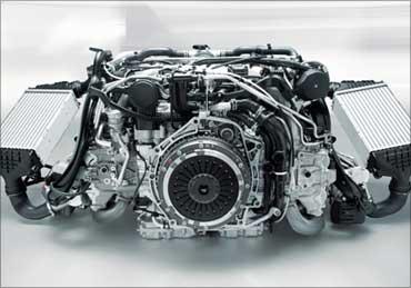 Porsche engine.