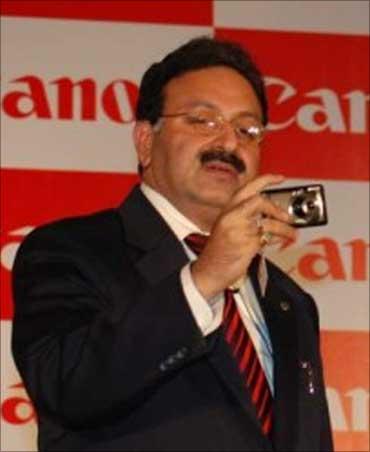 Alok Bhardawaj, Sr. Vice President, Canon India.