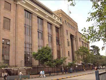 Reserve Banok of India's headquarters in Mumbai.