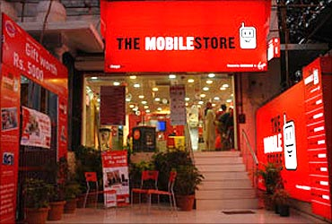 The Mobile Store.