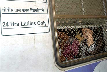 A ladies' compartment.