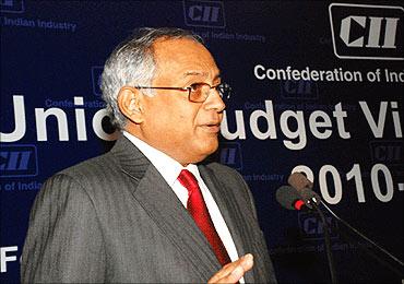 Venu Srinivasan, president, CII.
