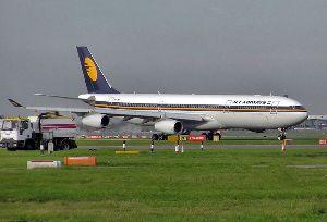 A Jet aircraft