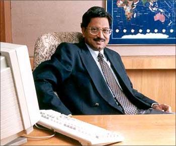 B Ramalinga Raju, former Satyam chairman.
