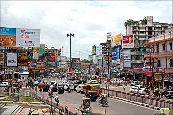Patna city.