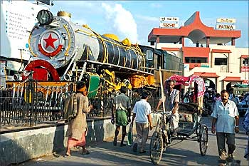 Patna railway station.