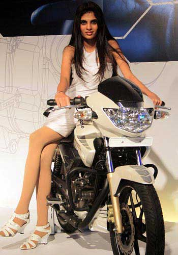 TVS Apache.
