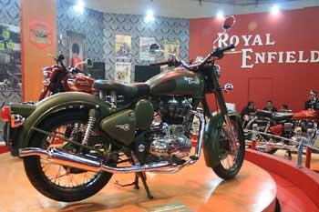 A new Royal Enfield bike.