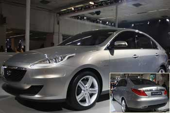 Prima: A next generation luxury sedan from Tata Motors.