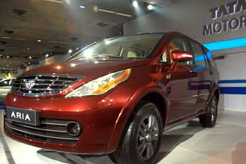 The Aria, the crossover MPV from Tata.