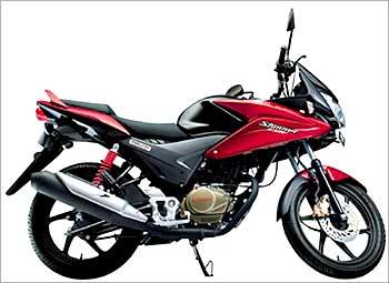 Honda CBF Stunner.