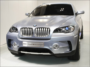 BMW's X6 ActiveHybrid.