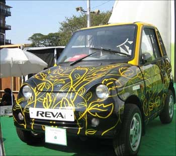 The Reva, painted by artists.