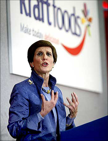 Kraft Foods Inc CEO Irene Rosenfeld.