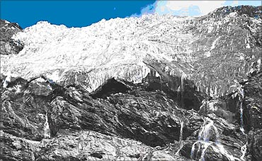 Himalayan glaciers.