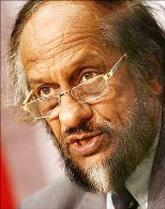 Image: IPCC chief Rajendra Pachauri. Phiotograph: Reuters