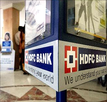 HDFC Bank scores high.