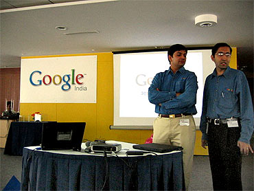Google India office in Bangalore.