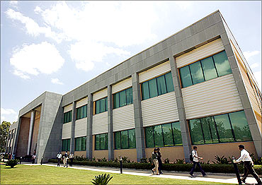 The Wipro campus in Bangalore.