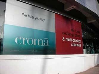 Tatas' Croma plans to make it big