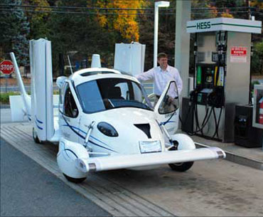 Flying car is here! Here's what it looks like