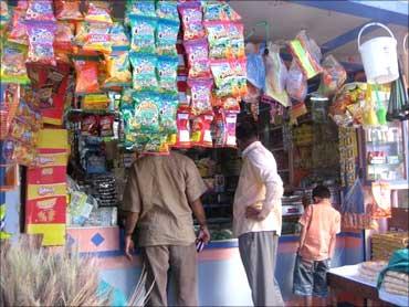 Pradeep Kumar, grocery store owner.
