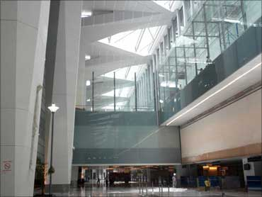 The new terminal building.