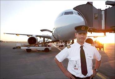 A pilot.