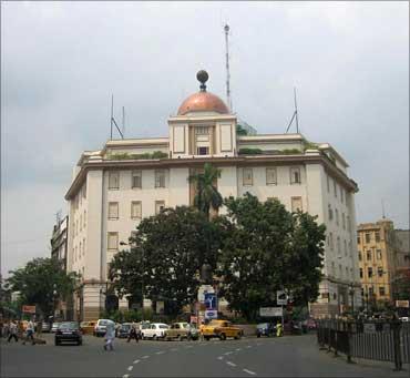 Victoria House, headquarters of CESC.