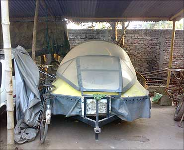 Gogoi's hovercraft.