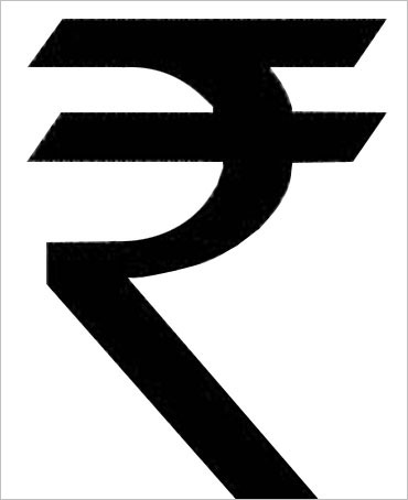 Although the rupee has a symbol, it isn't being used everywhere