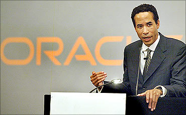 Charles E Phillips, Jr., president of Oracle Corporation.