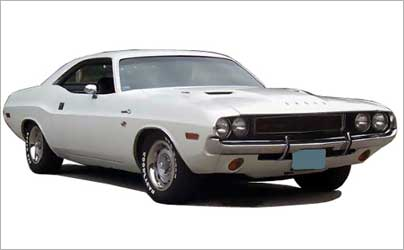 2-door 1970 Dodge Challenger.