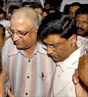 Former Satyam CFO Vadlamani Srinivas.