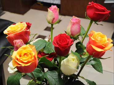 Roses from the Ethiopia unit.